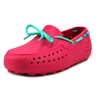 People Footwear The Senna Youth Moc Toe Synthetic Pink Loafer (Option: 1)