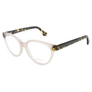 Balenciaga BA5035/V 058 Beige/Black Oval prescription-eyewear-frames - 53-15-140