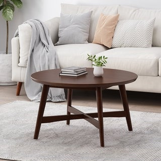 Link to Behrens Indoor Wood Coffee Table by Christopher Knight Home Similar Items in Living Room Furniture