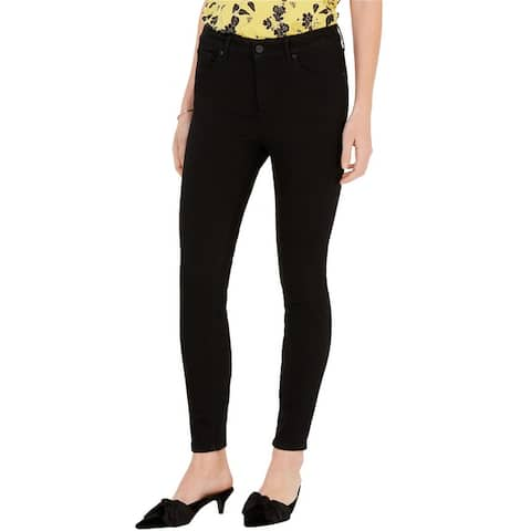 Maison Jules Womens High Rise Skinny Fit Jeans