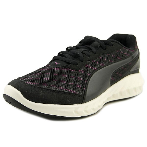 Puma Ignite Ultimate Women Round Toe Synthetic Black Running Shoe