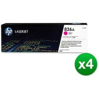 HP 826A Magenta Original LaserJet Toner Cartridge (CF313A)(4-Pack)