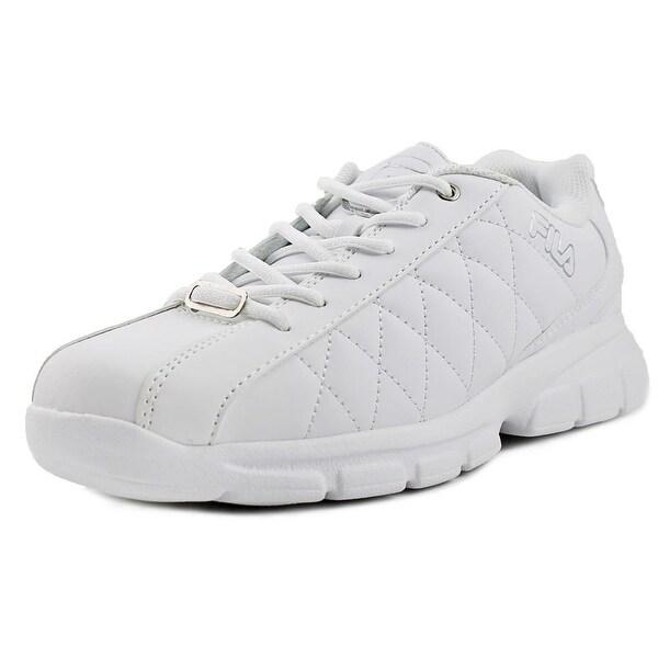 Fila Fulcrum 3 Men White/White/Metallic Silver Sneakers Shoes