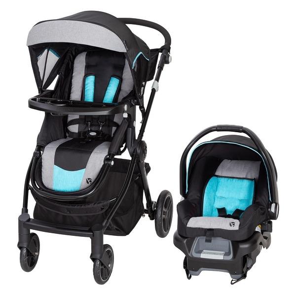 Baby Trend City Clicker Pro Travel System,Soho Blue - Single Stroller. Opens flyout.