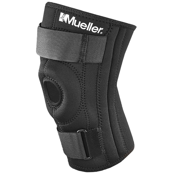 07b8107f06 Shop Mueller Patella Stabilizer Chondromalacia Relief Knee Brace - Black -  Free Shipping On Orders Over $45 - Overstock - 16427149