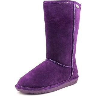Bearpaw Emma Tall Women Round Toe Suede Purple Winter Boot