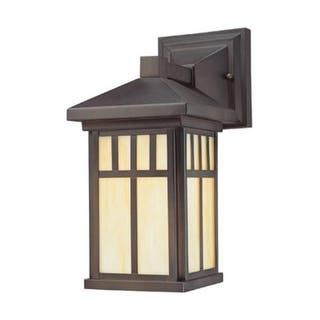 Westinghouse outdoor lighting for less overstock westinghouse 6732848 burnham one light exterior wall lantern on steel with honey art glass aloadofball Choice Image