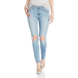 Lucky Brand Brooke Ripped Skinny Jeans Byers