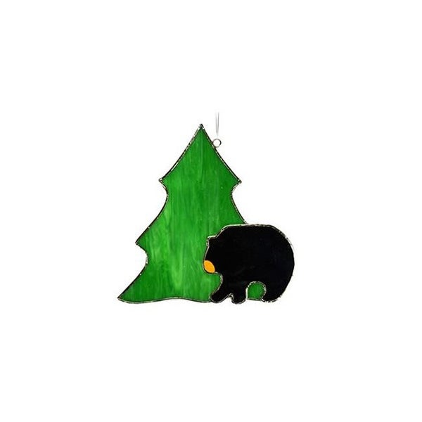 Shop Gift Essentials GE278 Black Bear with Tree Sun Catcher - Free ...