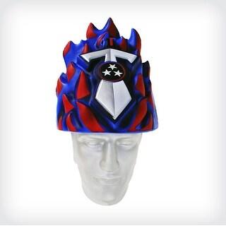NFL Team Mascot Foamhead Hat: Tennessee Titans - Blue