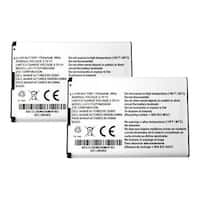 Replacement Battery for ZTE Li3717T42P3h654458 (2-Pack) Replacement Battery