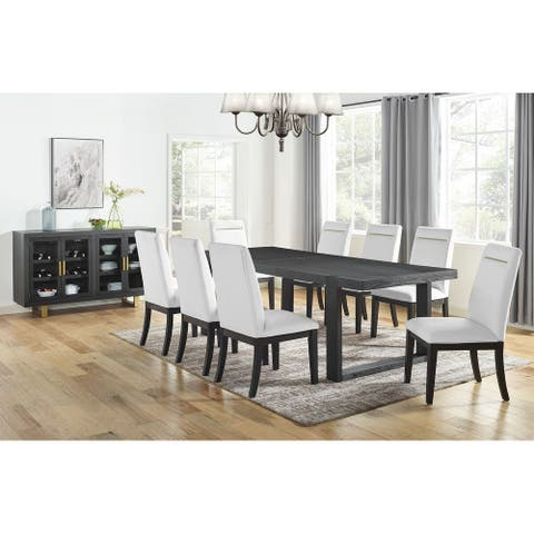 Strick & Bolton Yantis Modern 10-Piece Dining Set