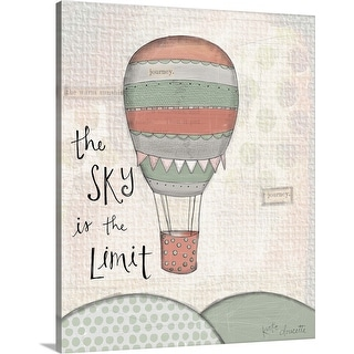 """""""Sky Is The Limit"""" Canvas Wall Art"""