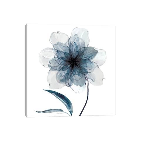 """iCanvas """"Indigo Bloom II"""" by Carol Robinson Canvas Print"""