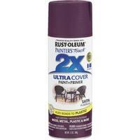 Rust-Oleum Sat Aubergine Spry Paint 257419 Unit: EACH