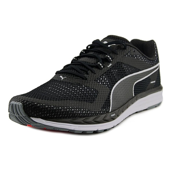 Puma Speed 500 Ignite Men Round Toe Synthetic Black Running Shoe