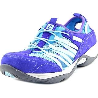 Easy Spirit Ezline W Round Toe Suede Walking Shoe