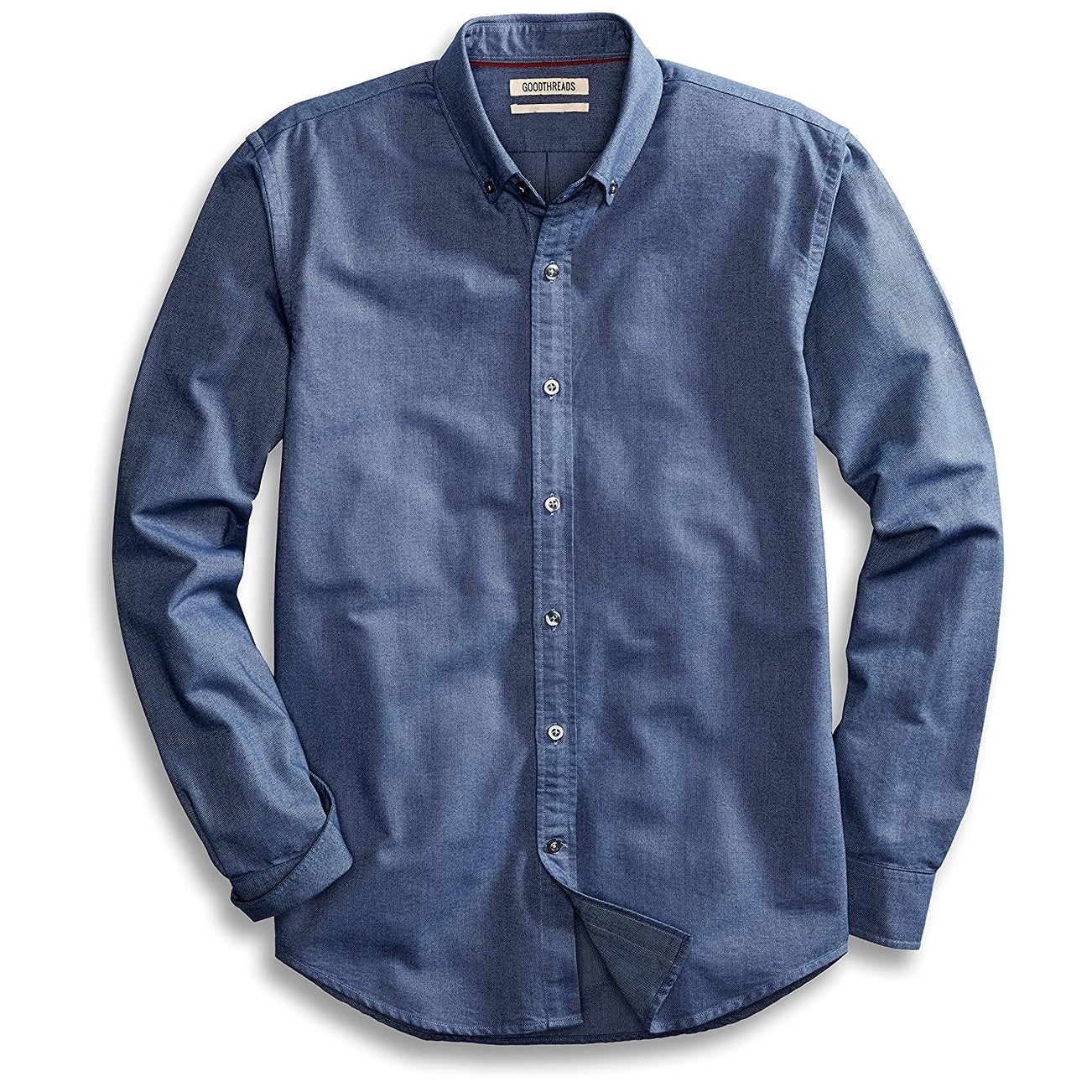 Brand Goodthreads Mens The Perfect Oxford Shirt Standard-Fit Long-Sleeve Solid