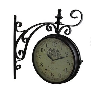 Her Majesty Decorative Double Sided Wall Clock