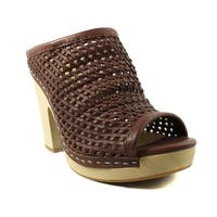 Dolce Vita Womens Brooks Brown Heels Size 8
