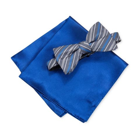 Alfani Mens 2-Piece Neck Tie Set - One Size