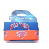 New York Knicks Rubber Wrist Band (Set of 2) NBA