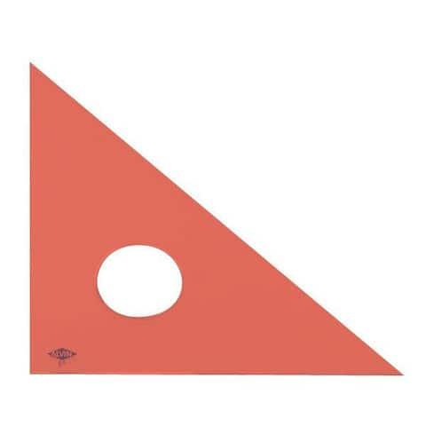 Alvin Fluorescent Professional Acrylic Triangle - 45 deg/90 deg