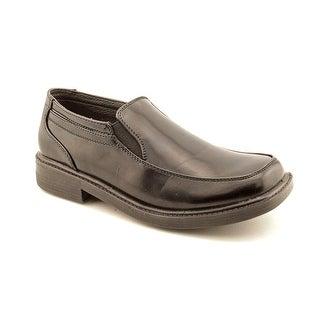 Deer Stags Brian Youth Square Toe Synthetic Black Loafer