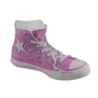 Saving Star Pink and White Retro High Top Sneaker Coin Bank