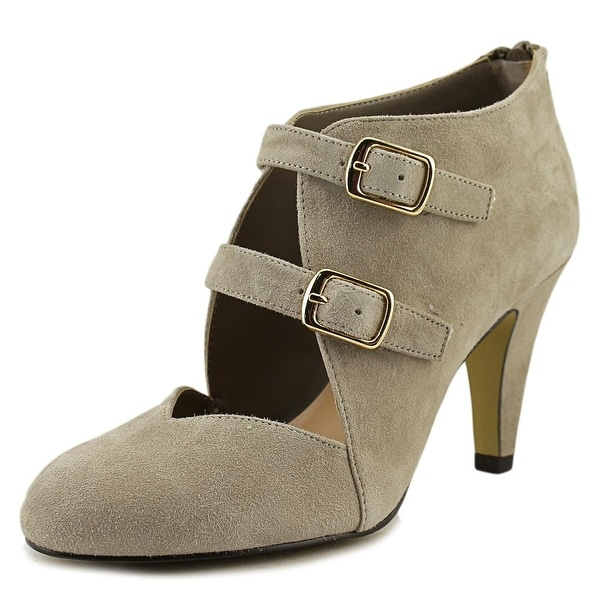 Bella Vita Niko Women Round Toe Leather Tan Bootie