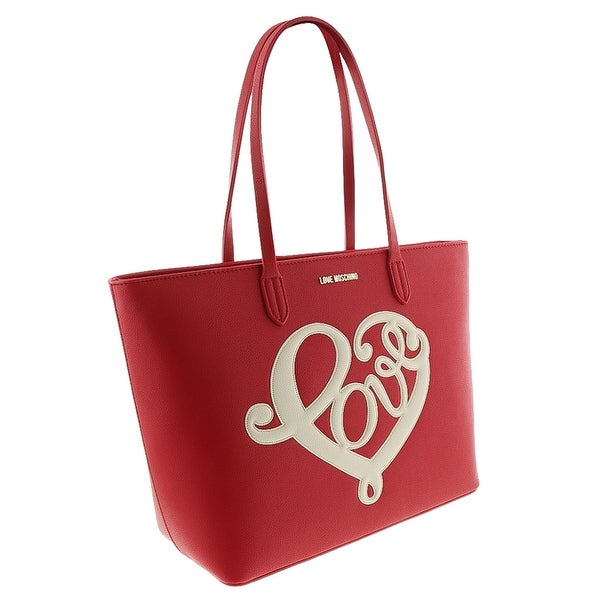 Moschino JC4257 0513 Red Shopper/Tote