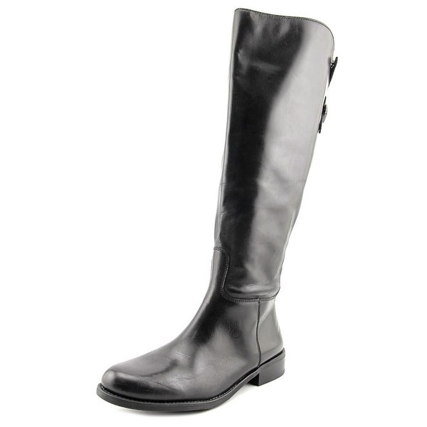 Vince Camuto Kadia Wide Calf Women Round Toe Leather Knee High Boot
