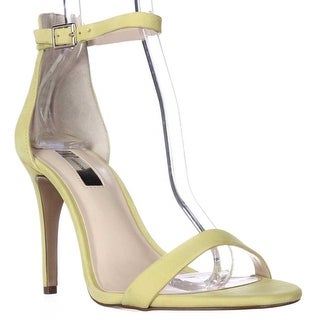 I35 Roriee Ankle Strap Dress Sandals, Chartreuse