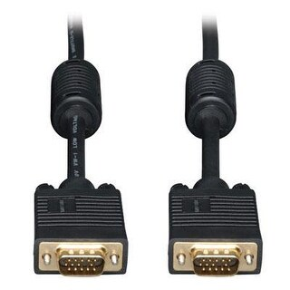 Tripp Lite Vga Coax Monitor Cable, High Resolution Cable With Rgb Coax (Hd15 M/M) 100-Ft.(P502-100)
