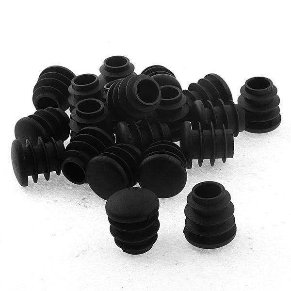 16mm Dia Plastic Round Table Chair Leg Feet Tube Pipe Insert End Cap Black 20pcs  sc 1 st  Overstock.com & Shop 16mm Dia Plastic Round Table Chair Leg Feet Tube Pipe Insert ...