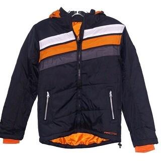 Youth Snow Jacket Arctix Rover - Black - Medium