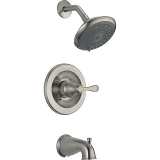 Delta 144984-BN Porter Monitor 14 Series Tub & Shower Trim, Brushed Nickel
