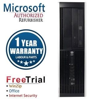 Refurbished HP Compaq Elite 8300 SFF Intel Core I7 3770 3.4G 8G DDR3 320G DVD WIN 10 Pro 64 1 Year Warranty - Black
