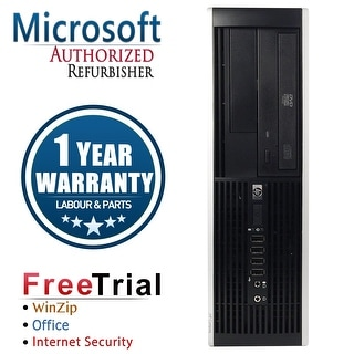 Refurbished HP Compaq Pro 6300 SFF Intel Core I5 3470 3.2G 8G DDR3 320G DVD Win 7 Pro 64 1 Year Warranty - Black