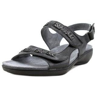 Trotters Kip Women Open-Toe Leather Slingback Sandal