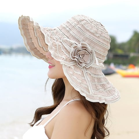 Anti-Purple Line Travel Sun Hat Foldable And Washable