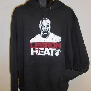Miami Heat #6 Lebron James Mens 2Xlarge 2Xl Hoodie By Majestic
