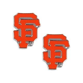 SAN Francisco Giants Post Stud Logo Earring Set MLB Charm
