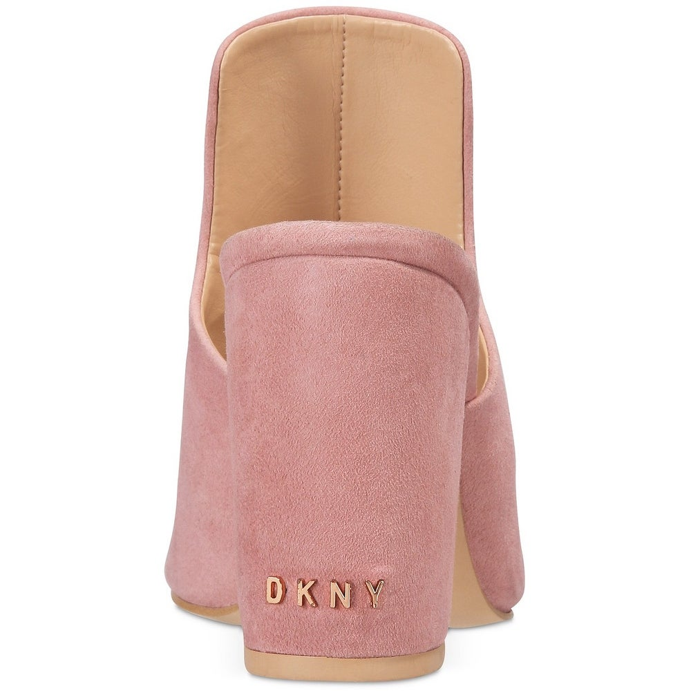 DKNY Womens Hester Fabric Peep Toe