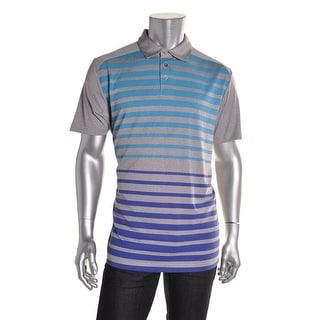 PGA Tour Mens Short Sleeves Striped Casual Shirt - XL