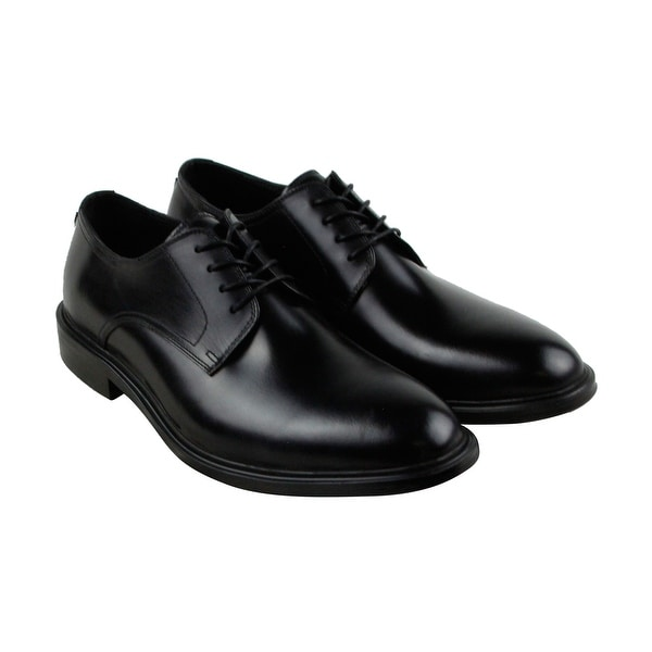 Kenneth Cole New York 4 The Record Mens Black Casual Dress Oxfords Shoes