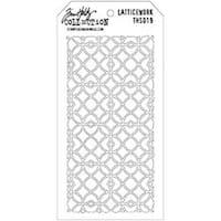 "Latticework - Tim Holtz Layered Stencil 4.125""X8.5"""