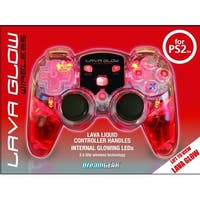 Dreamgear PS2 Red Lava Glow Mini Wireless Controller