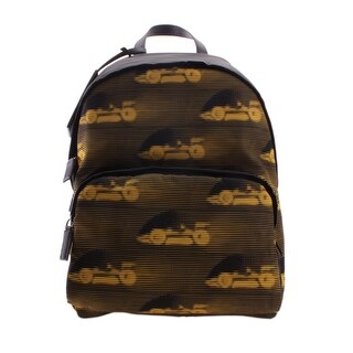 Prada Tessuto Fabric St. Cars Backpack Handbag - Brown - M