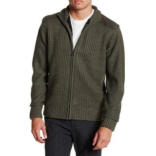 Weatherproof NEW Olive Green Mens Size Small S Full Zip Sweater|https://ak1.ostkcdn.com/images/products/is/images/direct/e02beed9f7489ca52f3345982f63d3f9fa7a0c1e/Weatherproof-NEW-Olive-Green-Mens-Size-Small-S-Full-Zip-Sweater.jpg?_ostk_perf_=percv&impolicy=medium